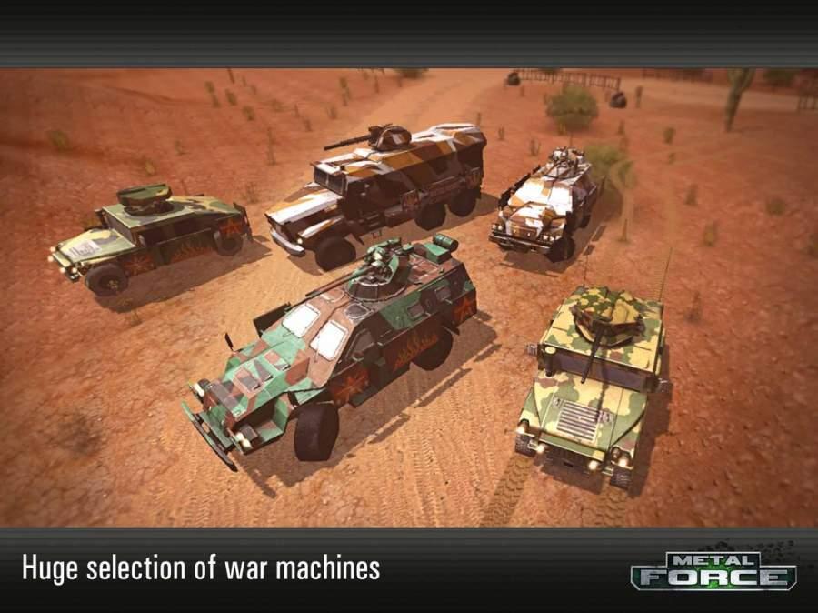 Metal Force: 最好的在線坦克射擊遊戲截图4