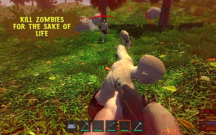 叢林生存模擬器 - 逃生任務截图0