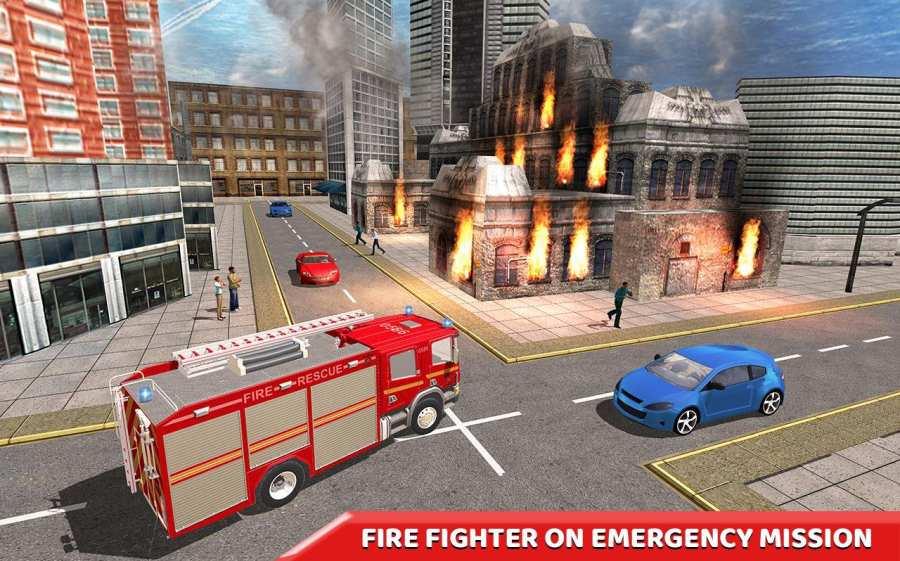 纽约 消防队员 拯救 模拟器