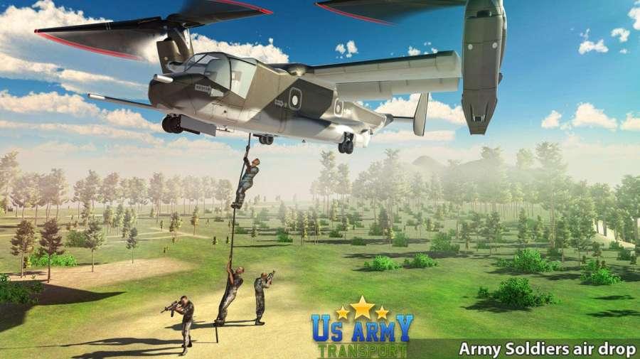 美国陆军运输游戏 - 鱼鹰飞行模拟器