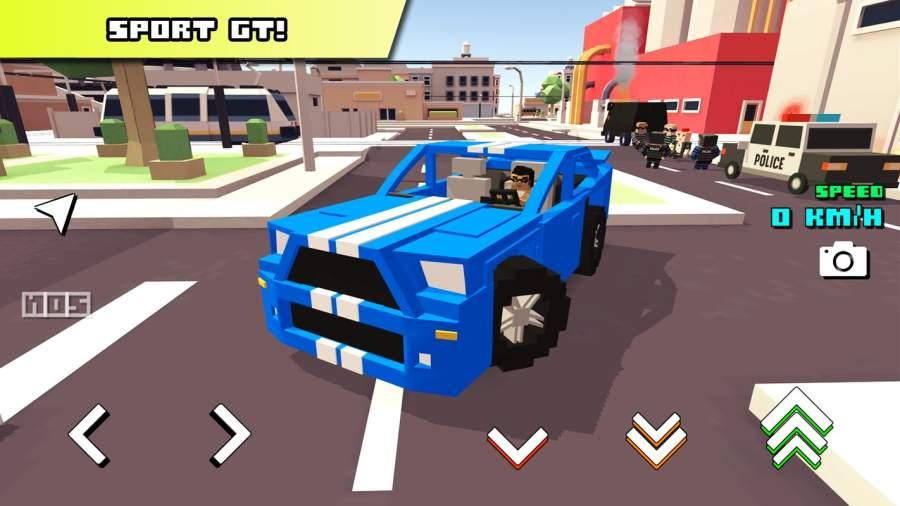 Blocky Car Racer截图0