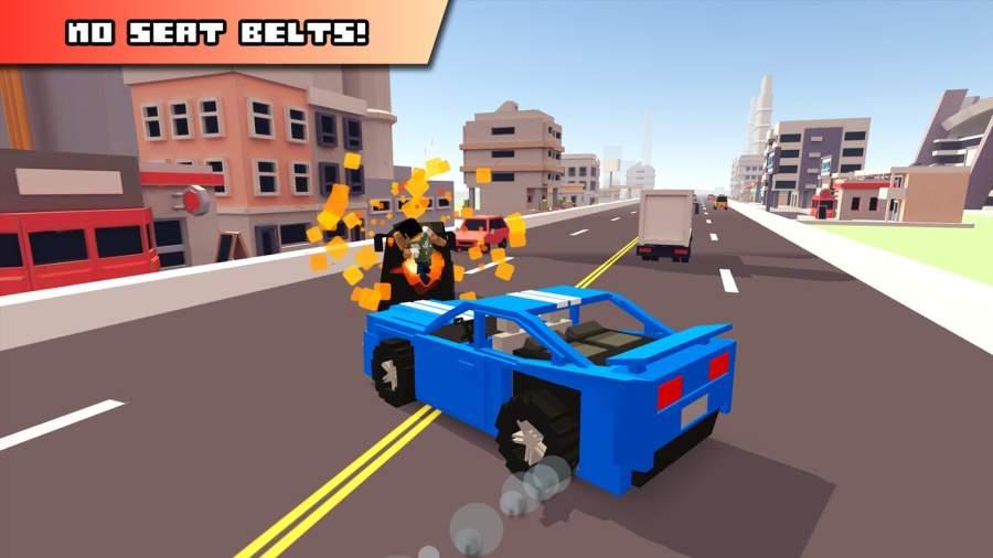 Blocky Car Racer截图2