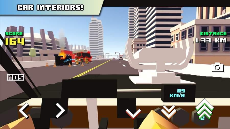 Blocky Car Racer截图3