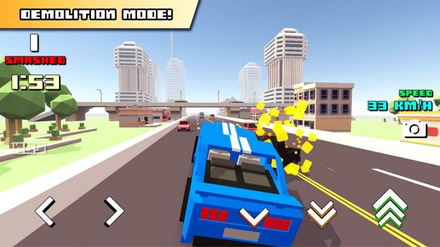 Blocky Car Racer截图4