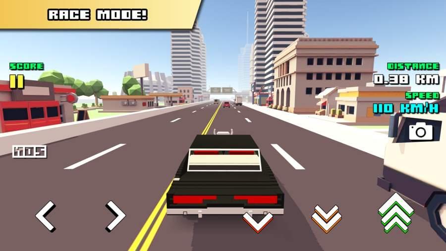 Blocky Car Racer截图5