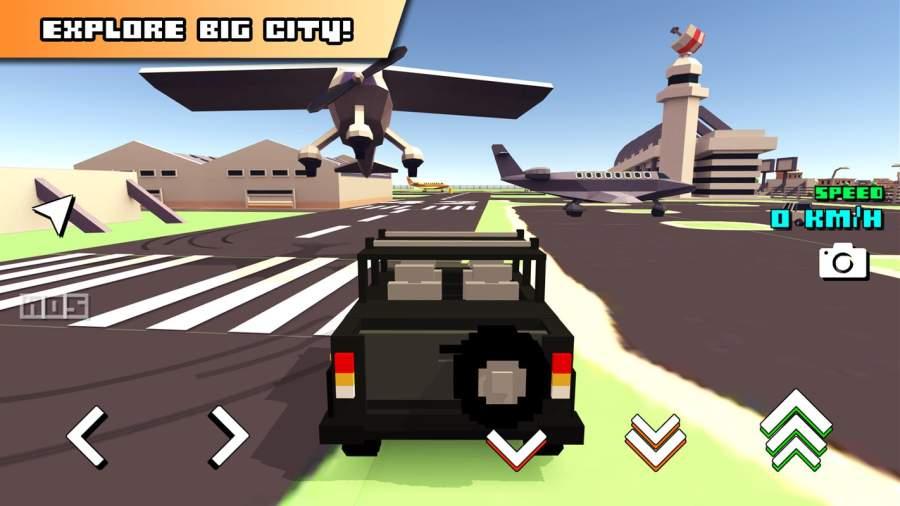 Blocky Car Racer截图7