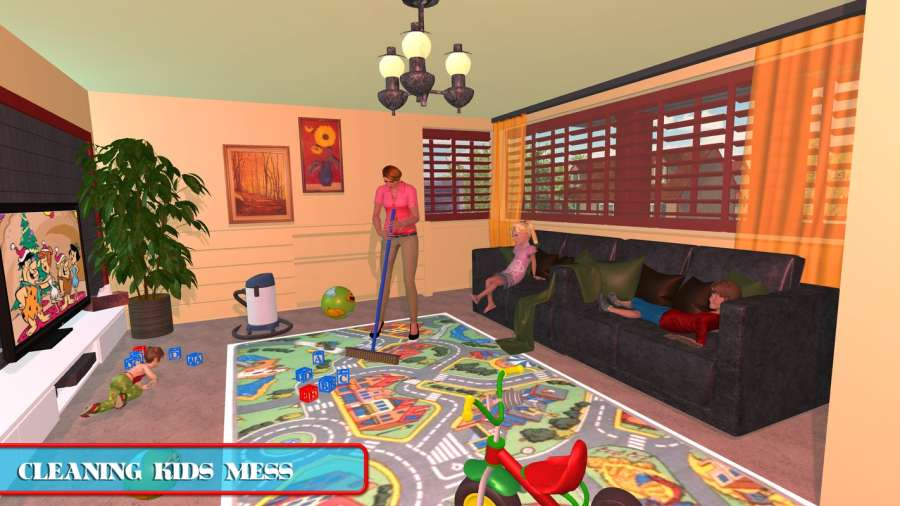 Virtual Mom Babysitter: Family Fun Time截图0