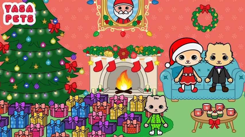 亚萨宠物:圣诞节