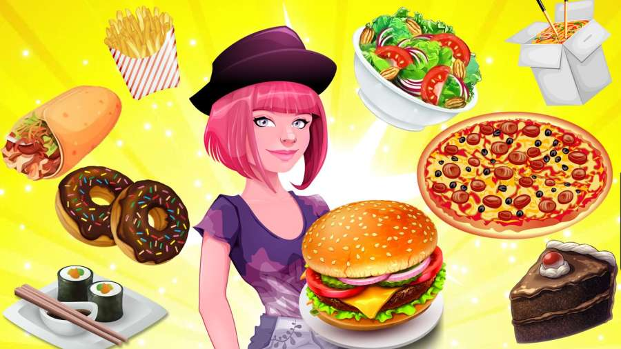 烹饪游戏厨师餐厅:汉堡救援发烧截图0