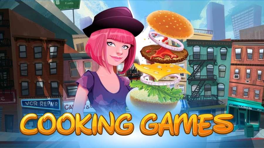 烹饪游戏厨师餐厅:汉堡救援发烧截图2