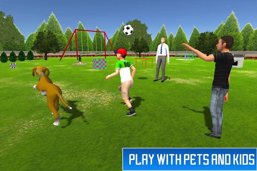 虚拟兄弟模拟器:家庭乐趣截图0