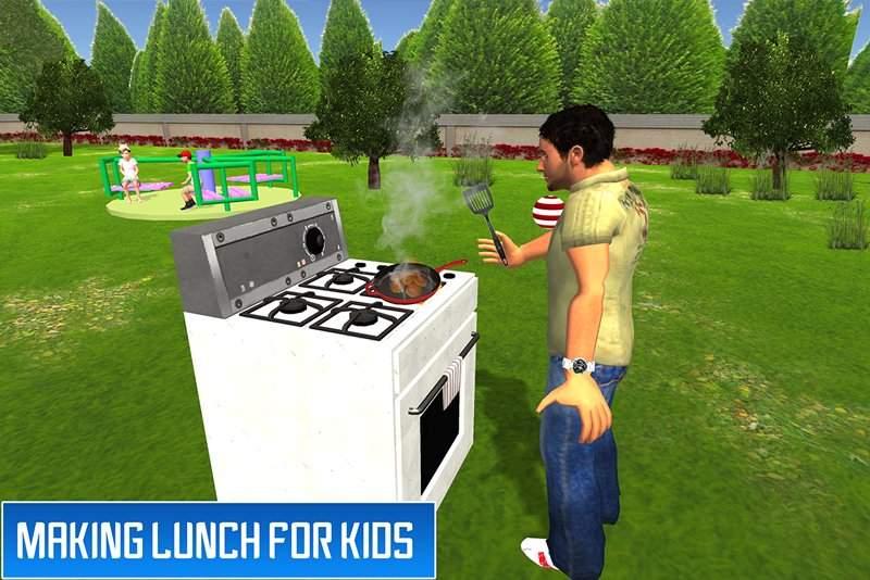 虚拟兄弟模拟器:家庭乐趣截图1