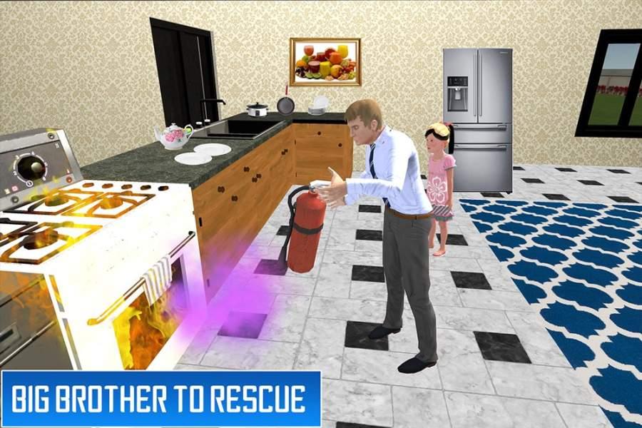 虚拟兄弟模拟器:家庭乐趣截图2