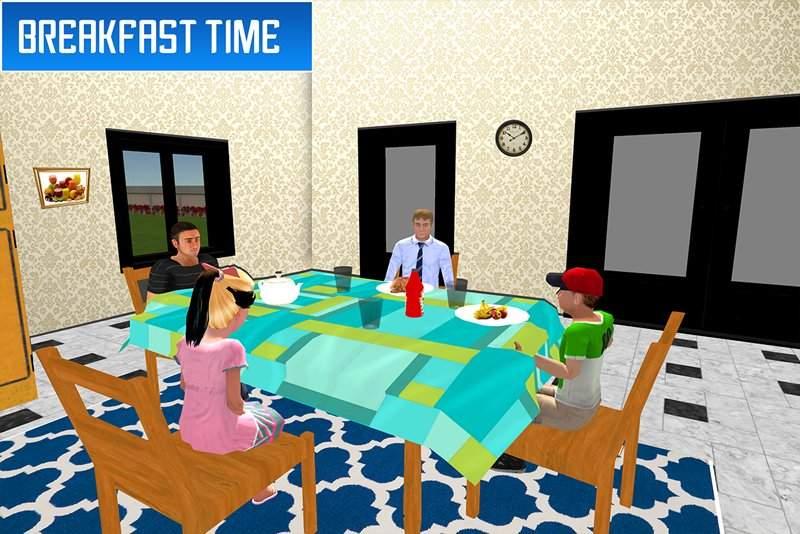 虚拟兄弟模拟器:家庭乐趣截图7
