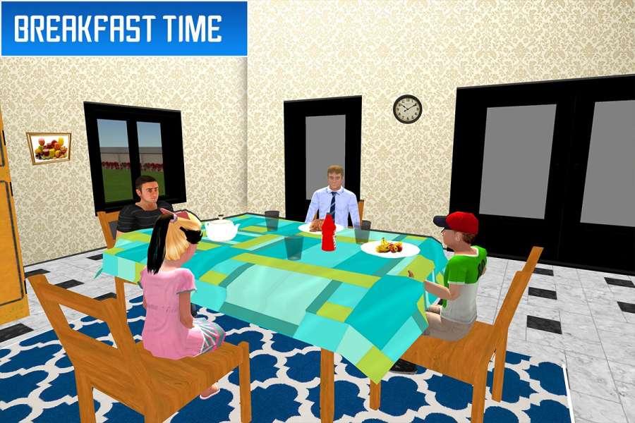 虚拟兄弟模拟器:家庭乐趣截图9