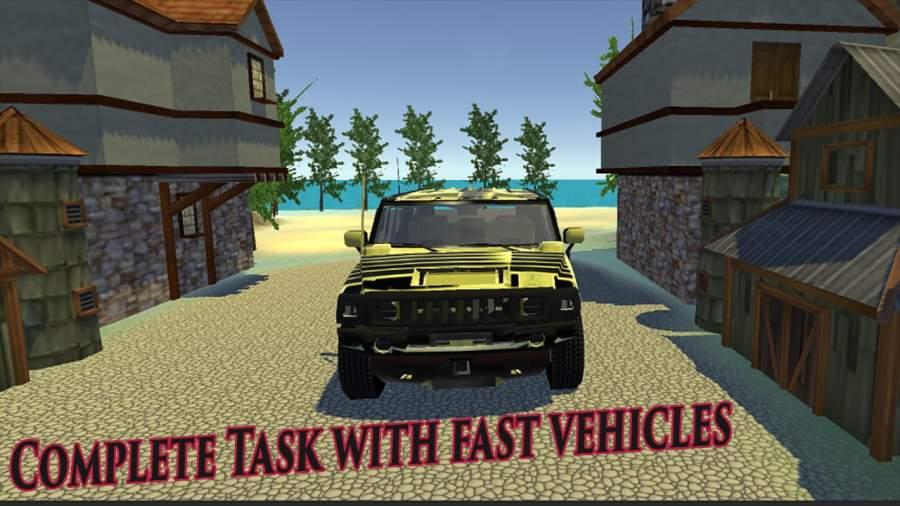 军队 卡车 驾驶 模拟器