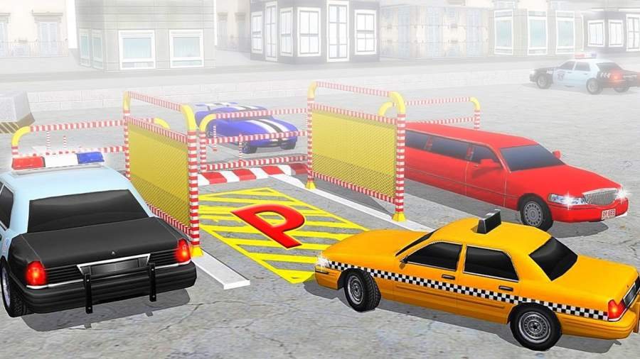 真实 汽车 驾驶 停車處截图1