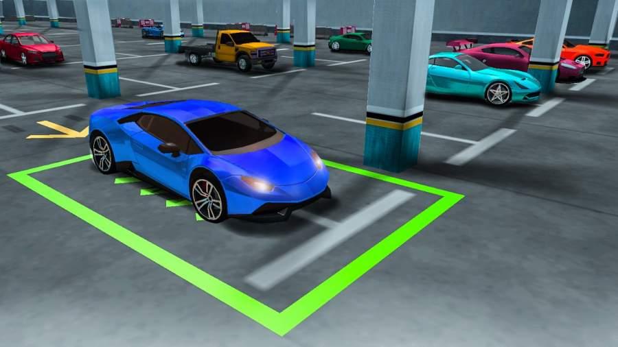 真实 汽车 驾驶 停車處截图3