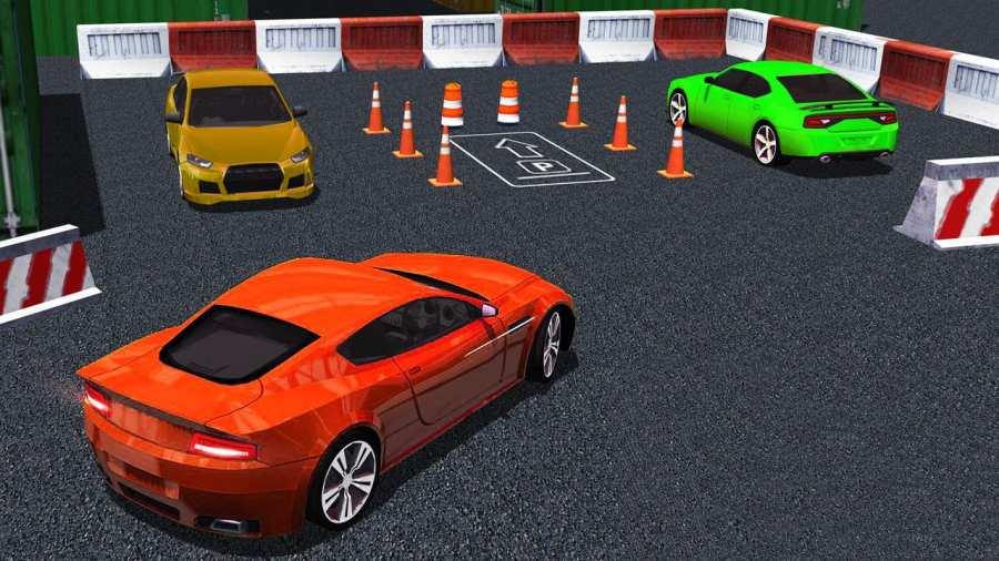 真实 汽车 驾驶 停車處截图4