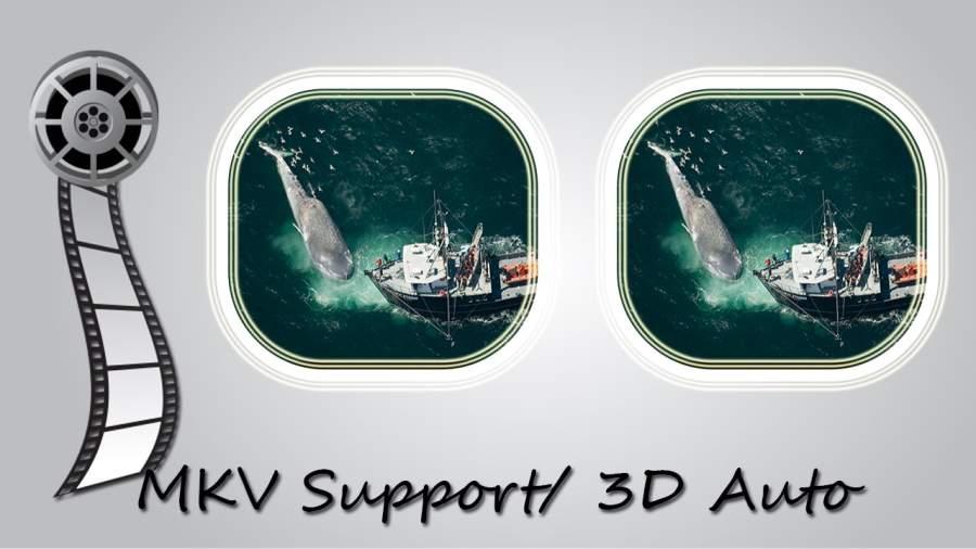 3D VR视频播放器电影3D截图2
