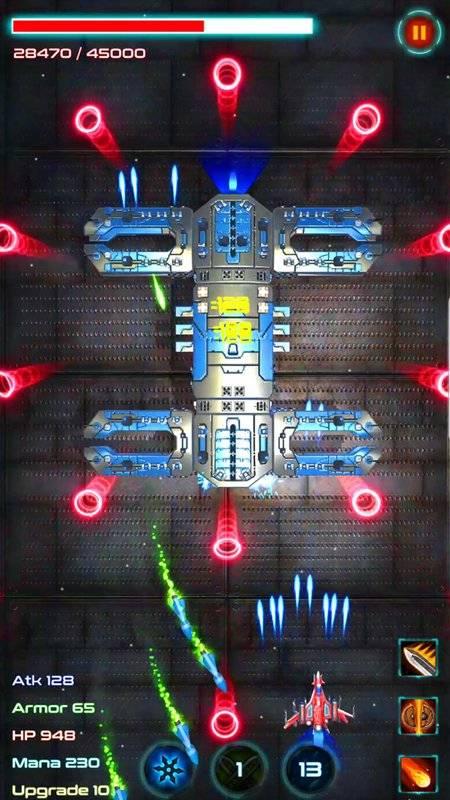 银河攻击:太空射击3D