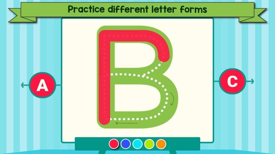 孩子们学习写:幼儿教育游戏