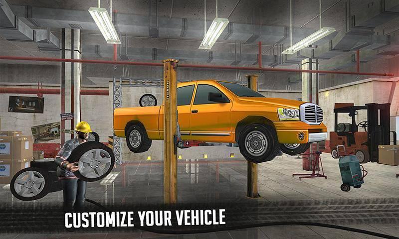 6x6越野车卡车模拟器极限驾驶截图2