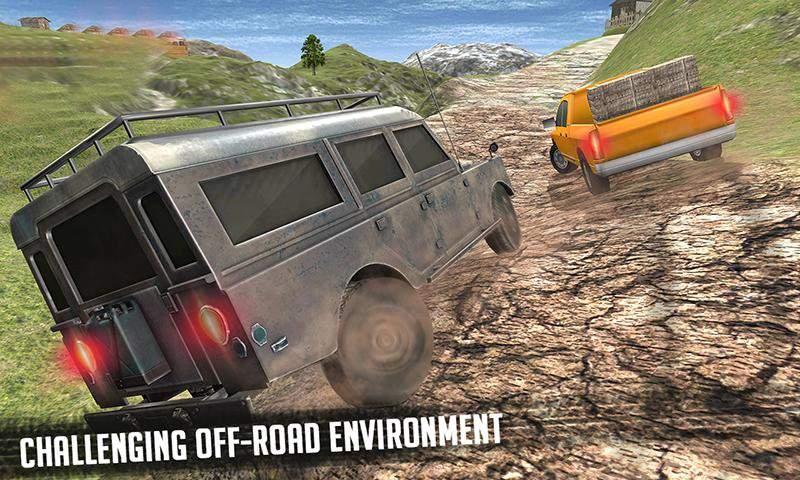 6x6越野车卡车模拟器极限驾驶截图6