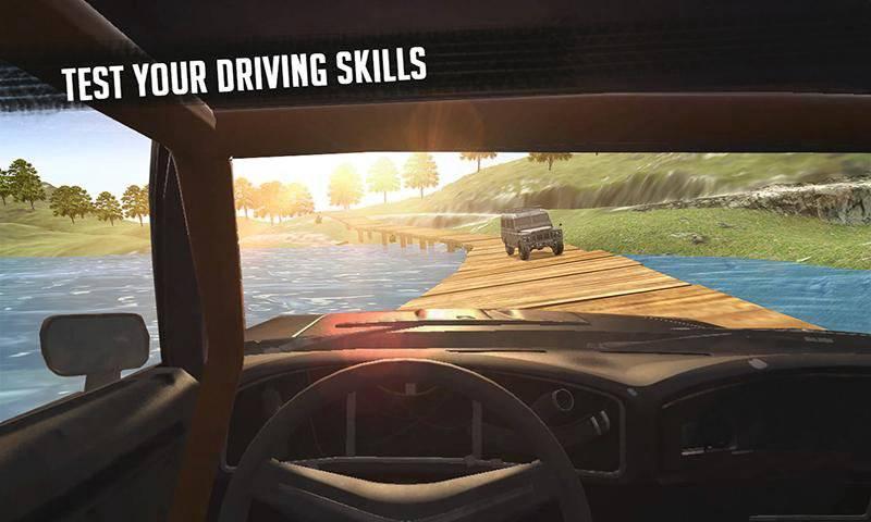 6x6越野车卡车模拟器极限驾驶截图8