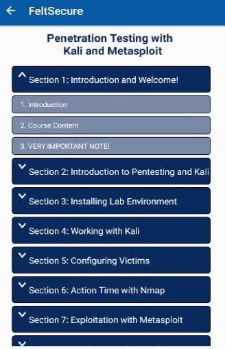 Cyber Security Training & Kali截图0