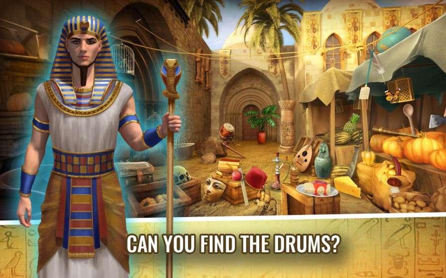 埃及的奥秘 – 隐藏的对象冒险游戏截图1