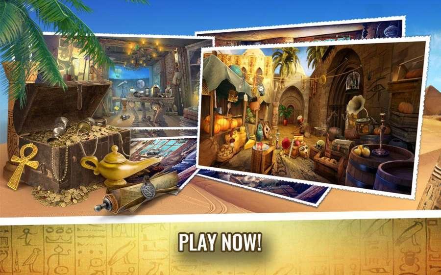 埃及的奥秘 – 隐藏的对象冒险游戏截图2