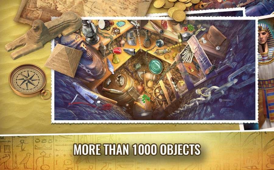 埃及的奥秘 – 隐藏的对象冒险游戏截图3