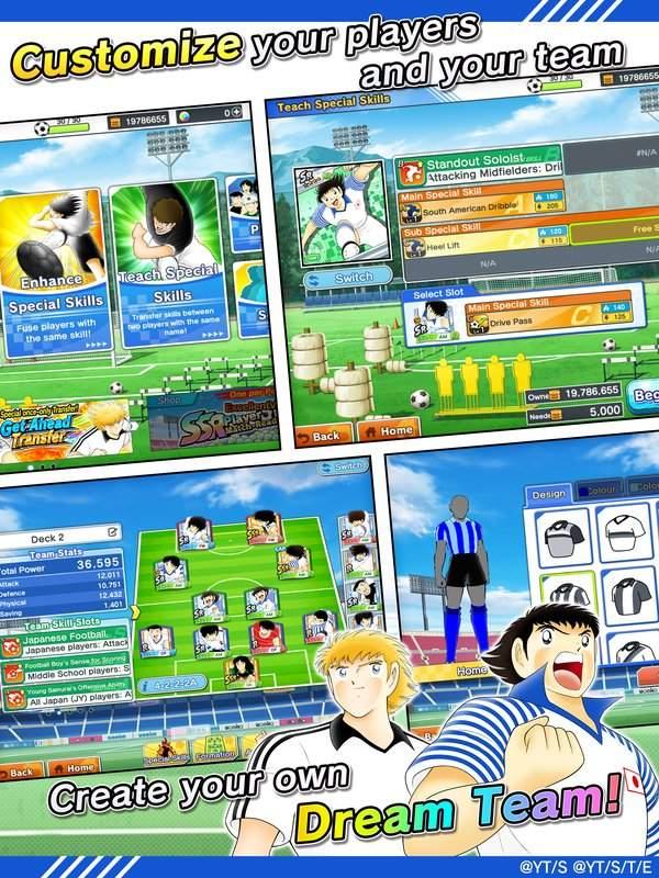 Captain Tsubasa: Dream Team截图3