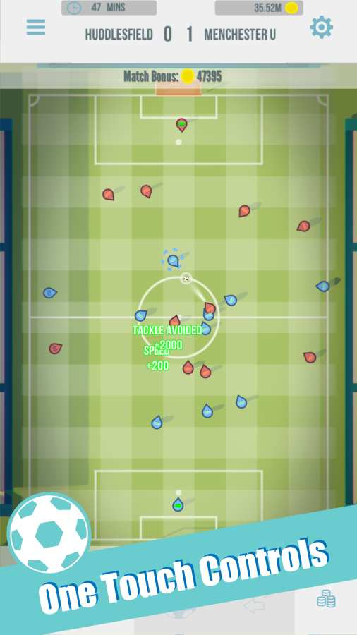 Footy Ball: Pass Pass Soccer足球:传球传球截图0