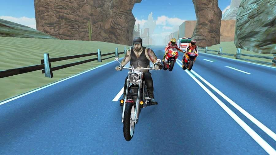 疯狂自行车攻击公路赛截图2
