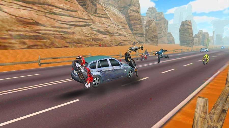 疯狂自行车攻击公路赛截图5