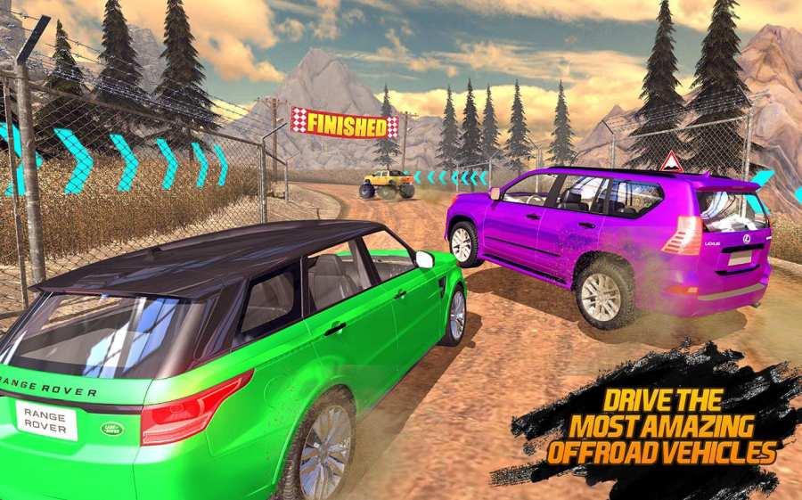 Off-road Jeep Hill Racing 4x4: Xtreme Rally Racing截图0