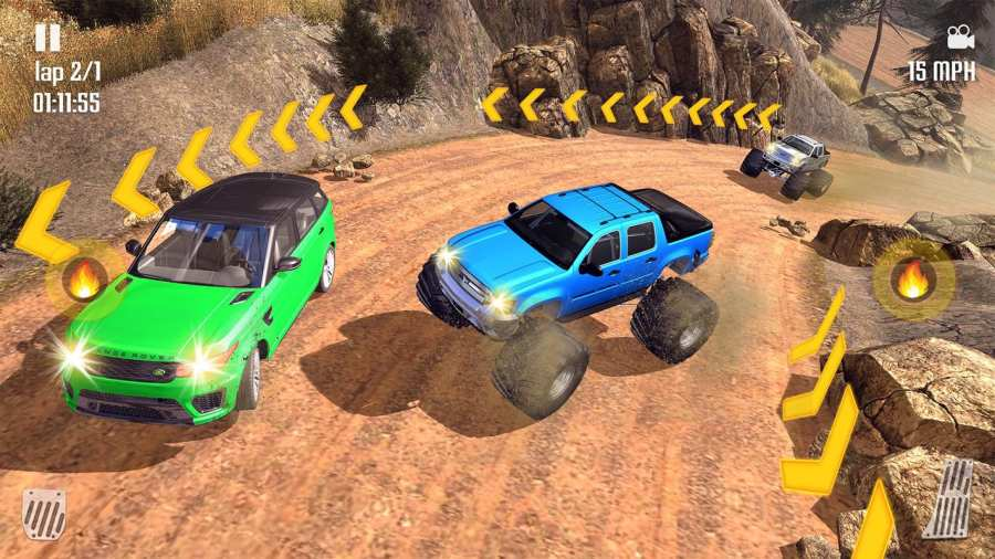 Off-road Jeep Hill Racing 4x4: Xtreme Rally Racing截图10