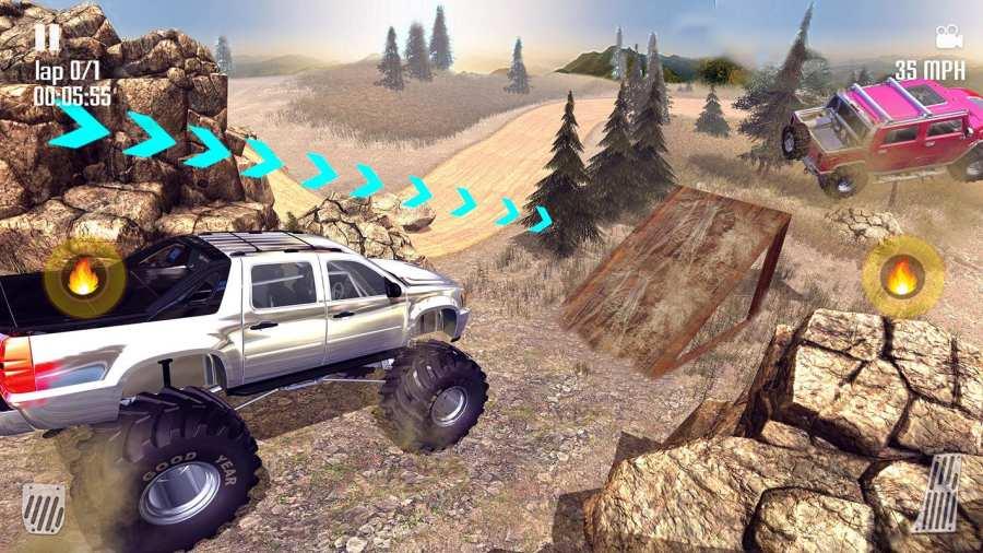 Off-road Jeep Hill Racing 4x4: Xtreme Rally Racing截图2