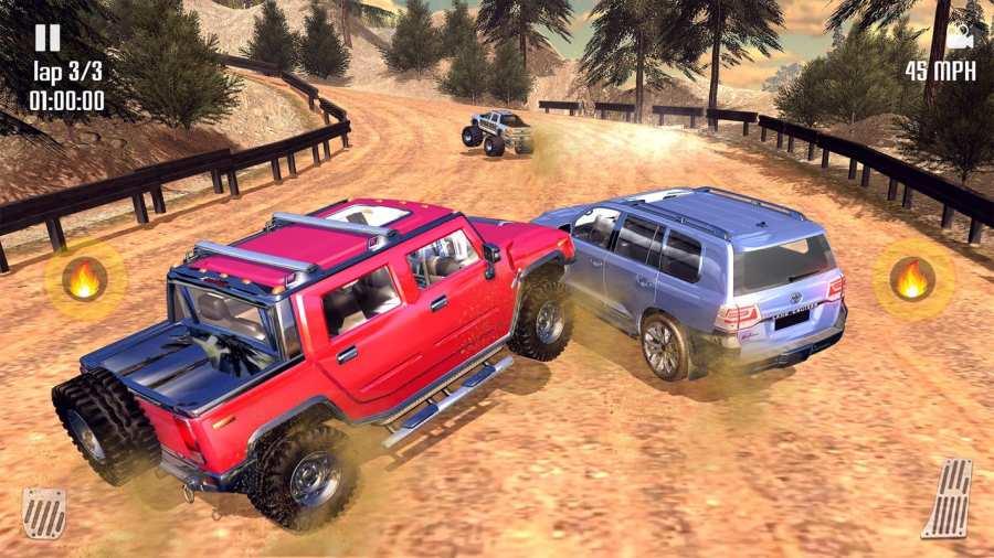 Off-road Jeep Hill Racing 4x4: Xtreme Rally Racing截图7