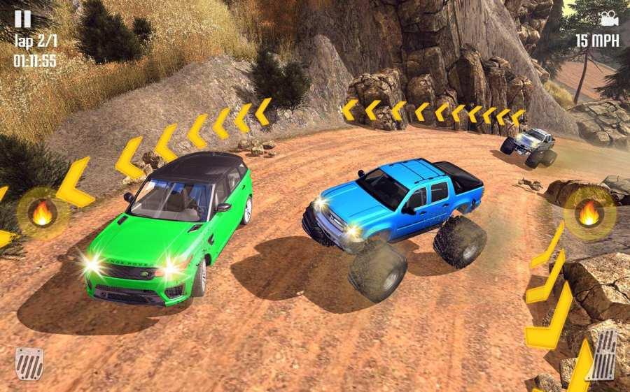 Off-road Jeep Hill Racing 4x4: Xtreme Rally Racing截图9