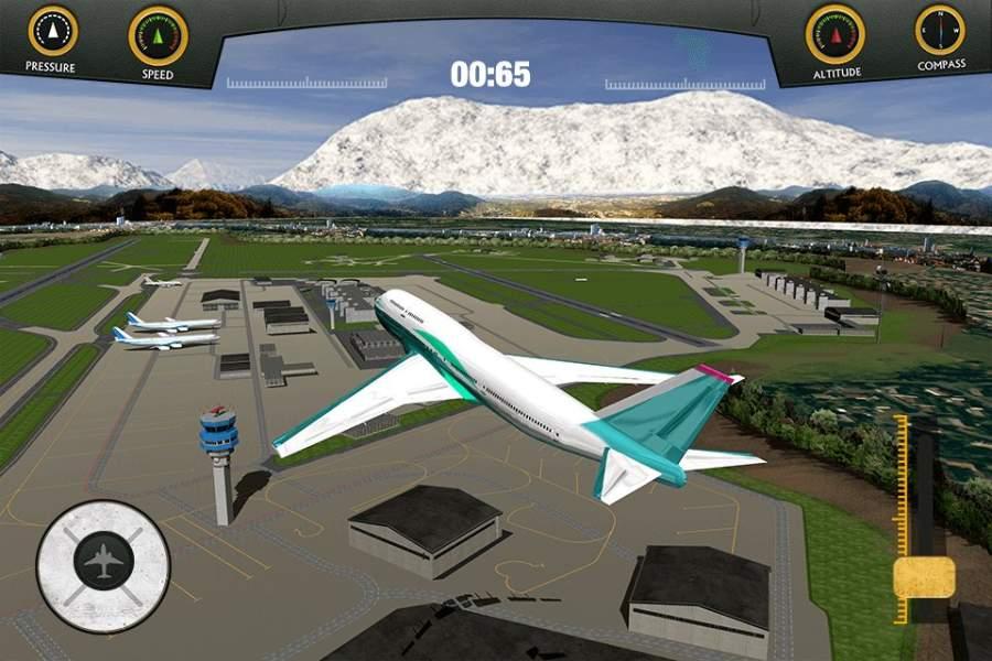 飞机着陆模拟器2018截图1
