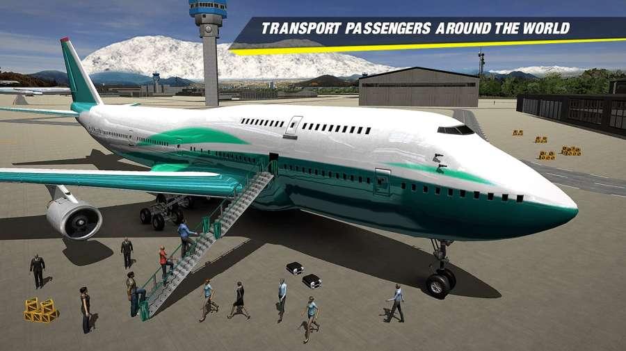 飞机着陆模拟器2018截图3