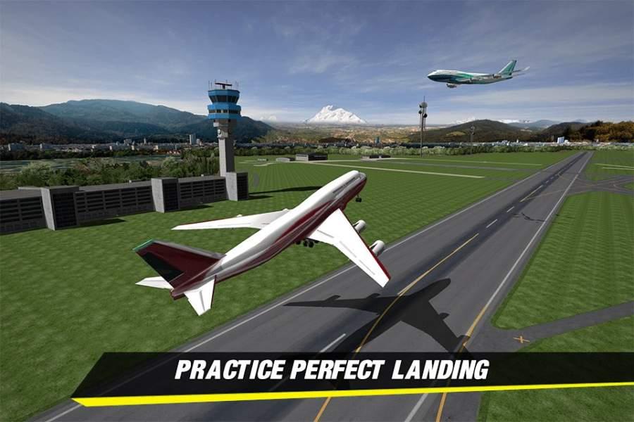 飞机着陆模拟器2018截图4