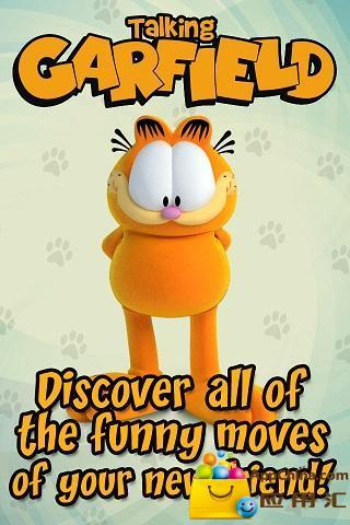 会说话的加菲猫