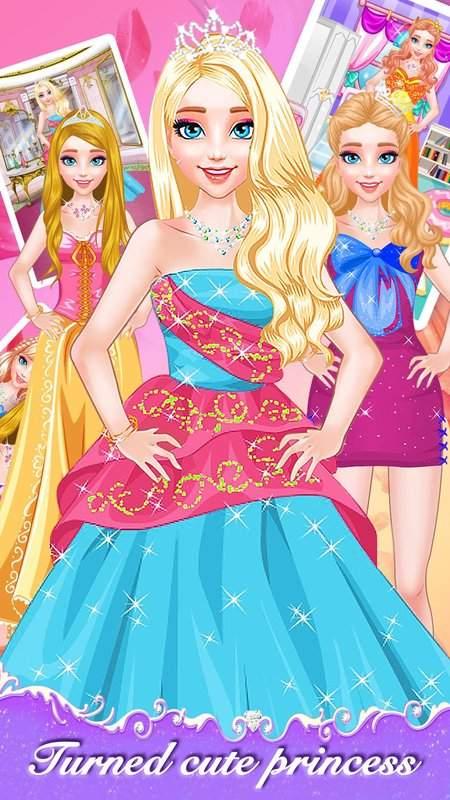 公主明星梦-女孩子爱玩的换装游戏