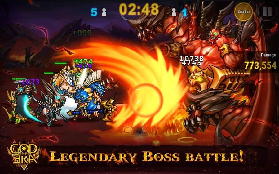神的时代:英雄战争 God of Era: Heroes War截图0