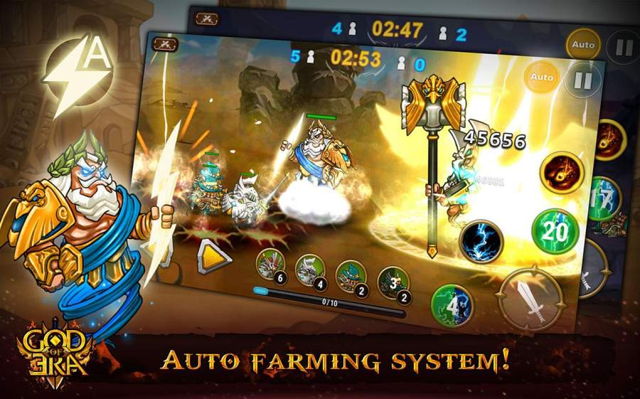 神的时代:英雄战争 God of Era: Heroes War截图3