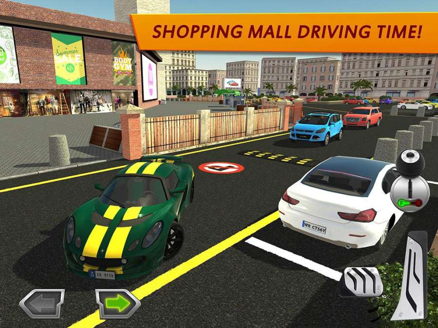 Shopping Mall Car Driving截图9